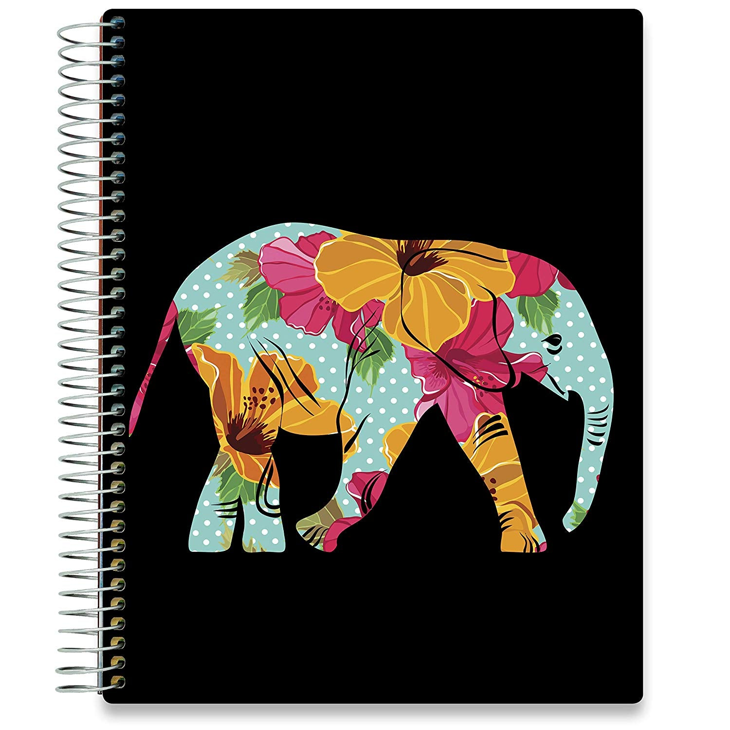 NEW: April 2020-2021 Planner - 8.5x11 - Floral Elephant-Office Product-Tools4Wisdom