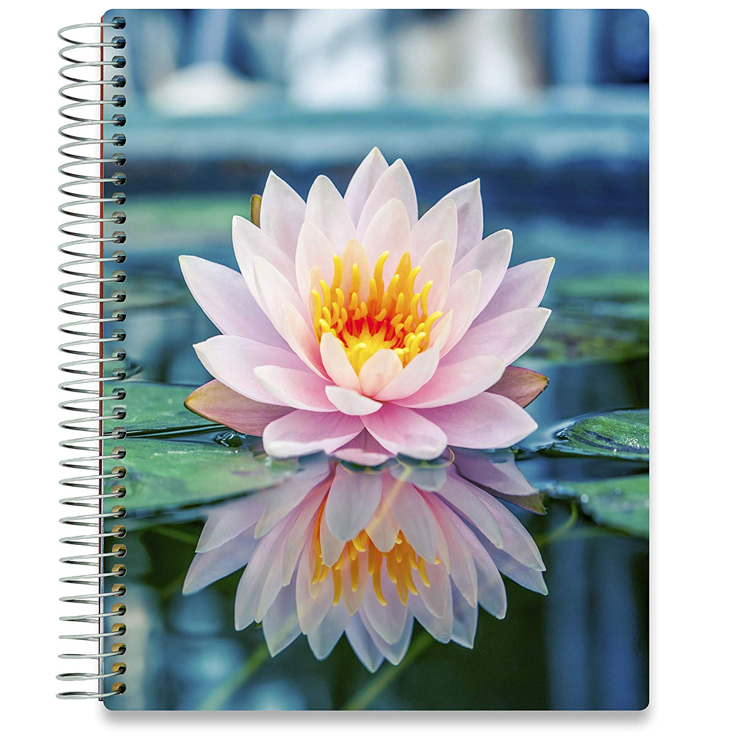 NEW: April 2020-2021 Planner - 8.5x11 - Pink Lotus-Office Product-Tools4Wisdom