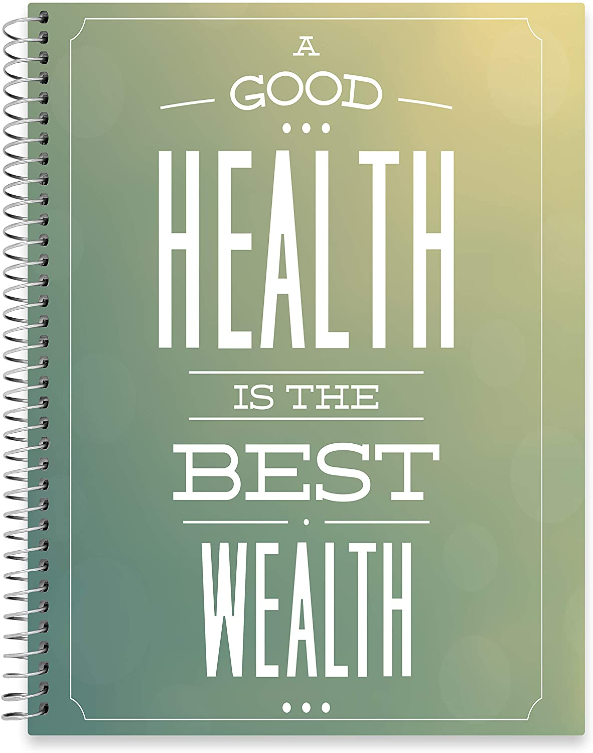 "July 2020 - June 2021 Softcover Planner - 8.5"" x 11"" - Health 4 Wealth Cover"