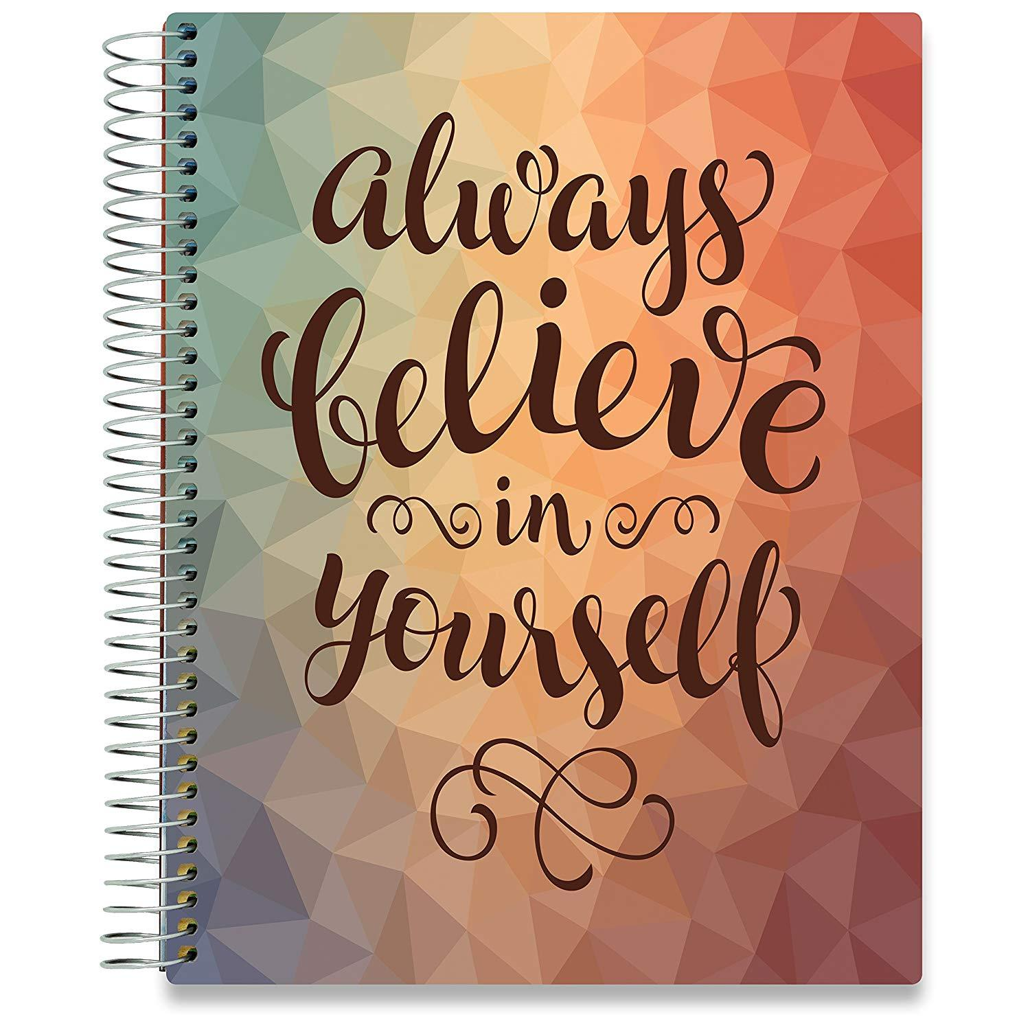 2019 Dated Planner - Always Believe-Office Product-Tools4Wisdom