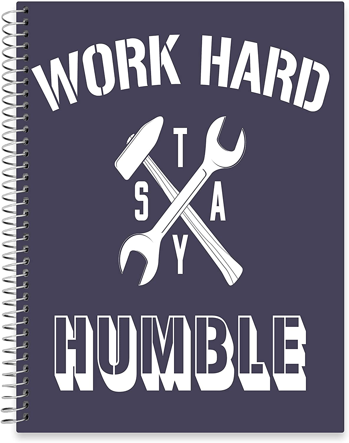 "July 2020 - June 2021 Softcover Planner - 8.5"" x 11"" - Work Hard Stay Humble Cover"