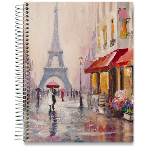 2019 Dated Planner - Couple in Paris-Office Product-Tools4Wisdom