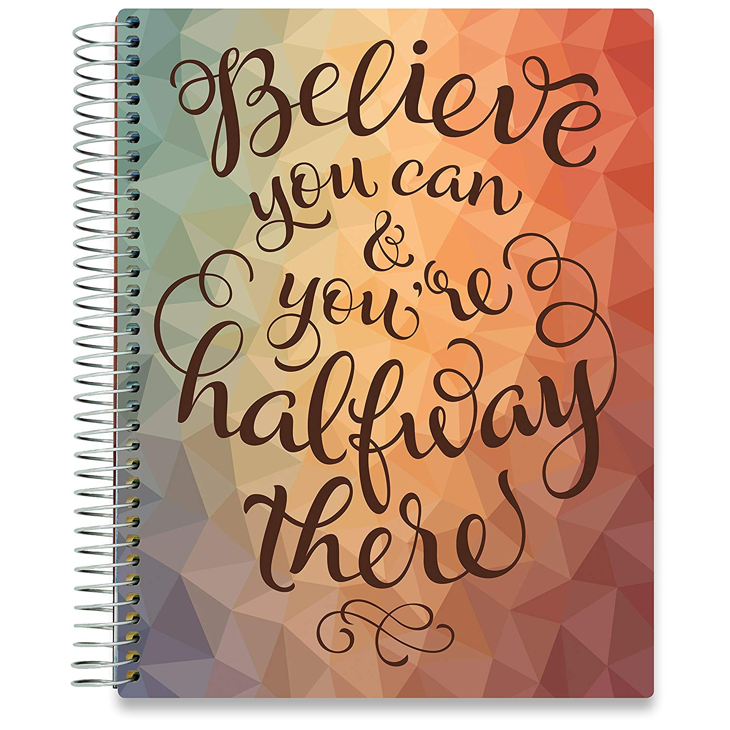 NEW: April 2020-2021 Planner - 8.5x11 - Believe U Can-Office Product-Tools4Wisdom