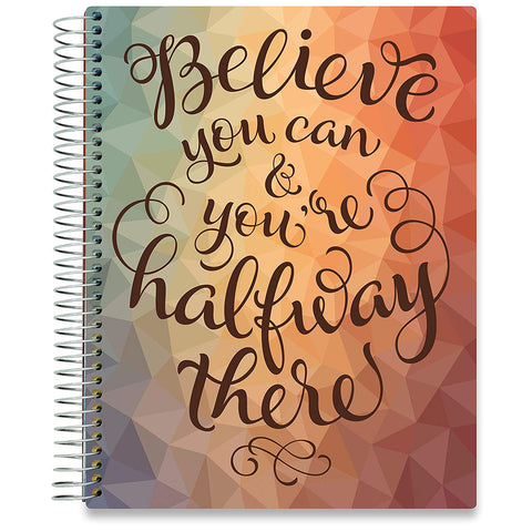 2019 Dated Planner - Believe You Can-Office Product-Tools4Wisdom