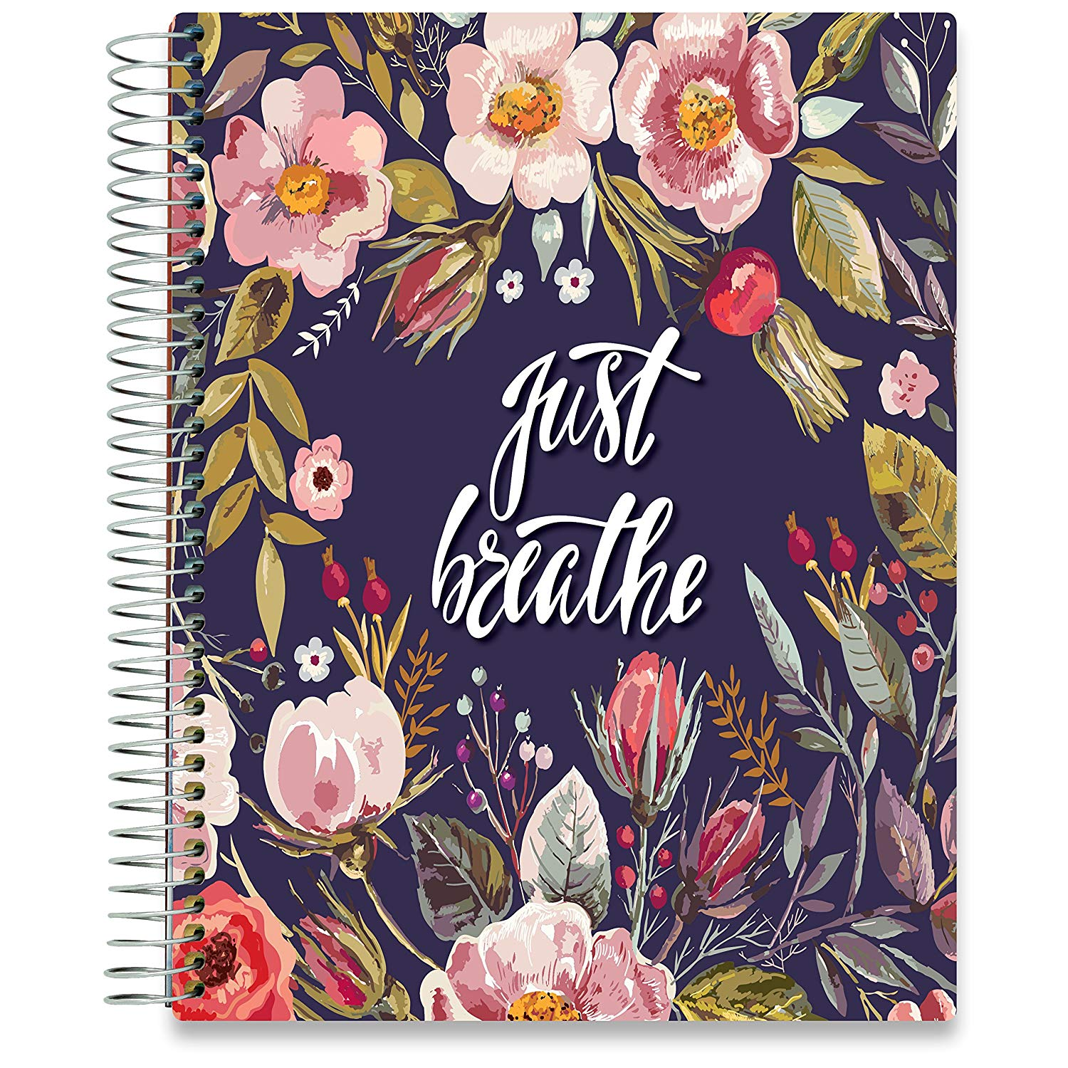 NEW: April 2020-2021 Planner - 8.5x11 - Spring Flowers-Office Product-Tools4Wisdom