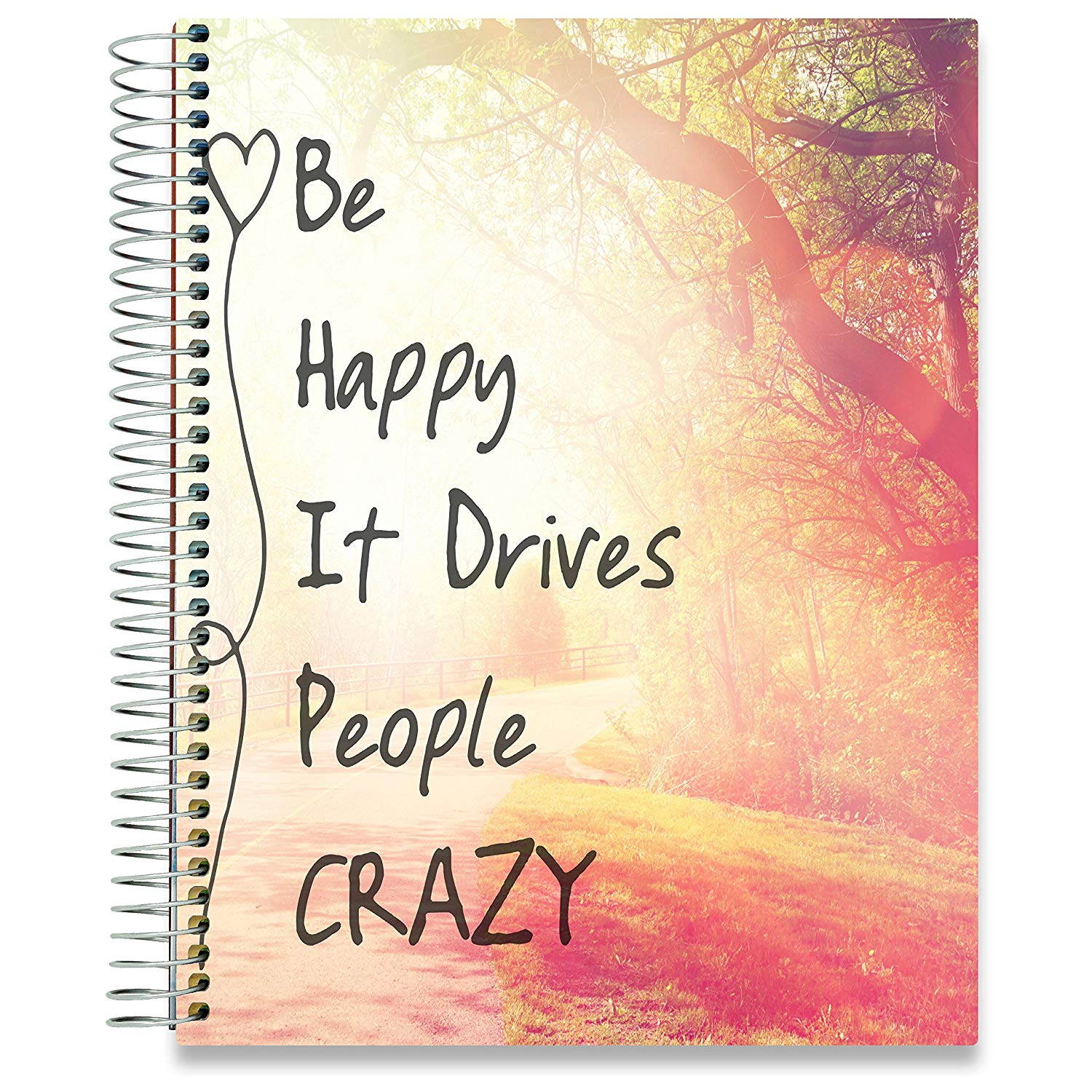 NEW: April 2020-2021 Planner - 8.5x11 - Be Happy - Tools4Wisdom