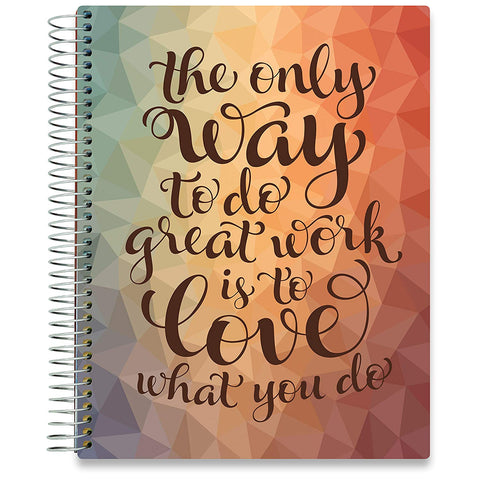 2019 Dated Planner - Love What You Do-Office Product-Tools4Wisdom