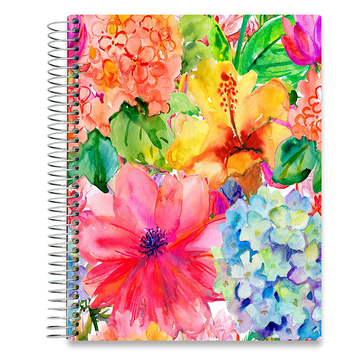 NEW: April 2020-2021 Planner - 8.5x11 - Hibiscus-Office Product-Tools4Wisdom