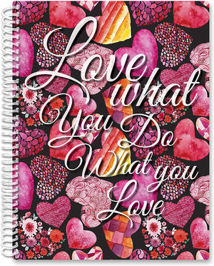 2021 Calendar Year Softcover Planner - 8.5 x 11 - Heart What You Do
