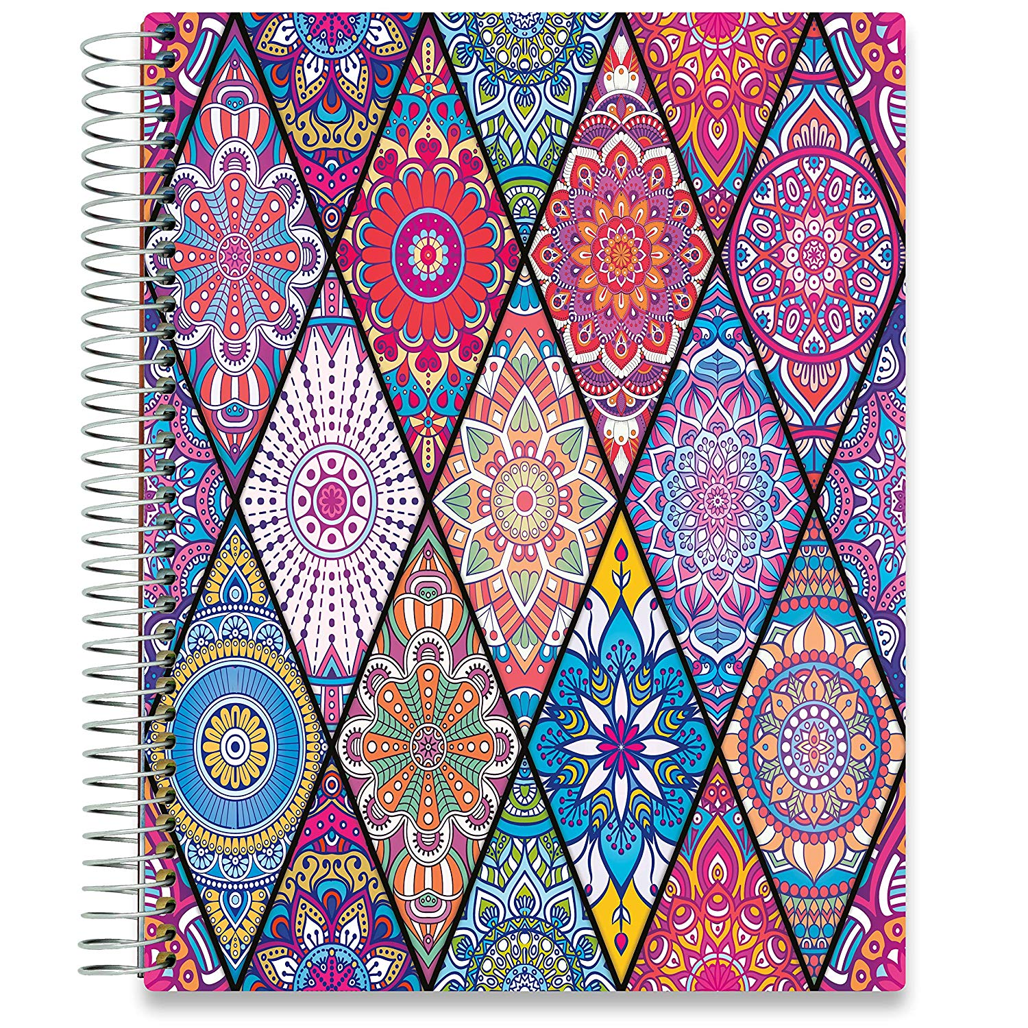 NEW: April 2020-2021 Planner - 8.5x11 - Bejeweled v2-Office Product-Tools4Wisdom