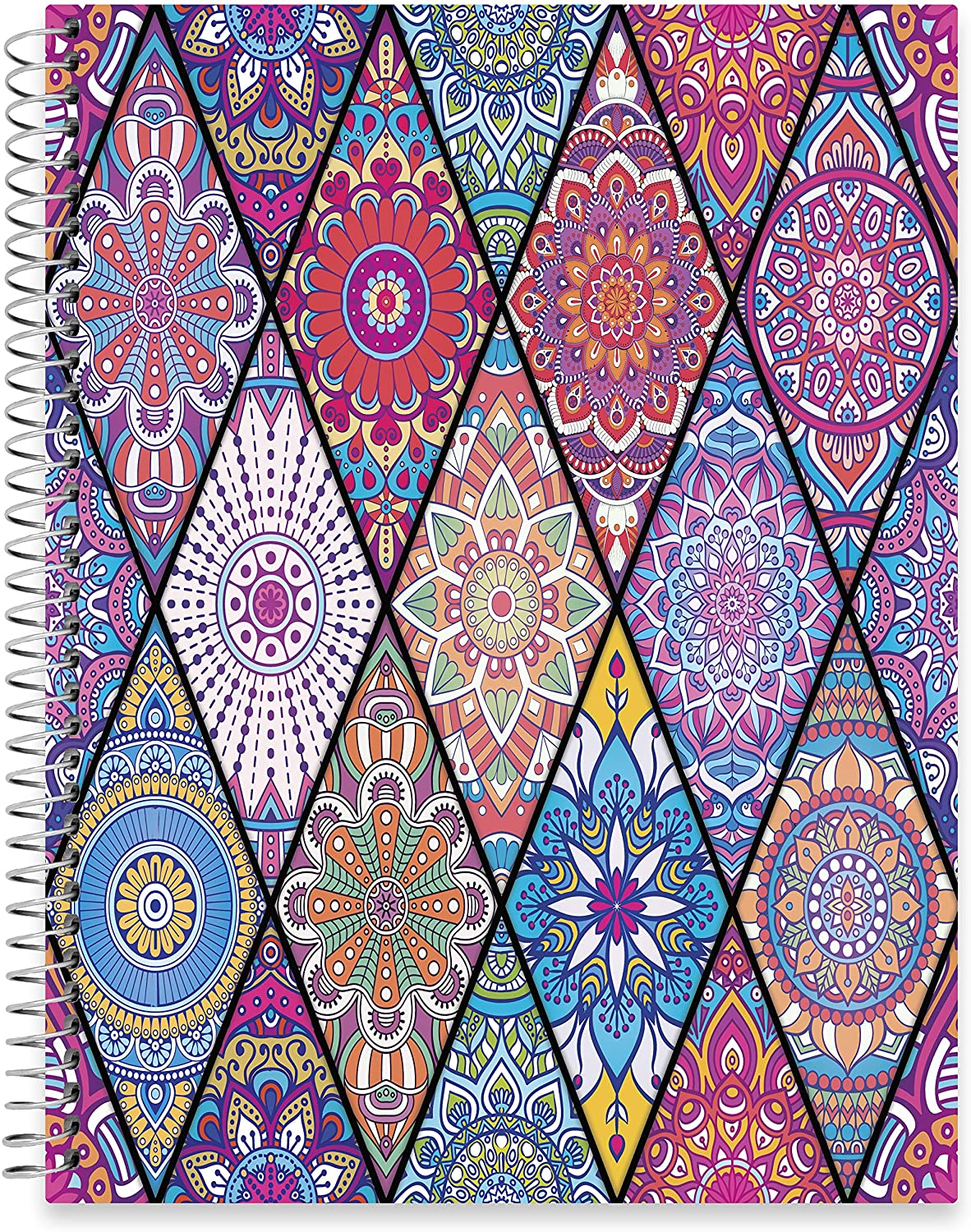 "July 2020 - June 2021 Softcover Planner - 8.5"" x 11"" - Bejeweled v2 Cover"