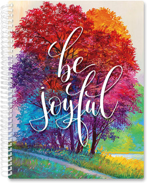 March 2021- Feb 2022 Softcover Planner - 8.5 x 11 - Be Joyful