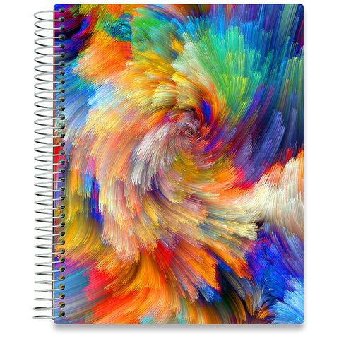 NEW: April 2020-2021 Planner - 8.5x11 - Colorsplash-Office Product-Tools4Wisdom