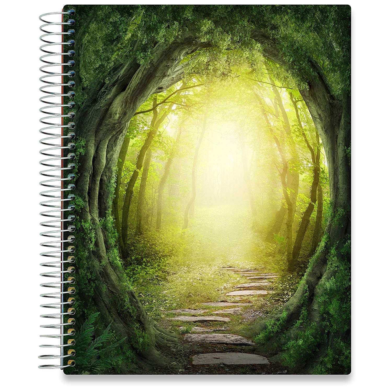 NEW: April 2020-2021 Planner - 8.5x11 - Magic Forest-Office Product-Tools4Wisdom