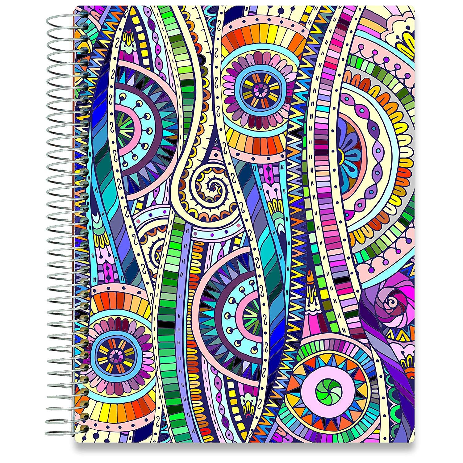 NEW: April 2020-2021 Planner - 8.5x11 - Abstract-Office Product-Tools4Wisdom