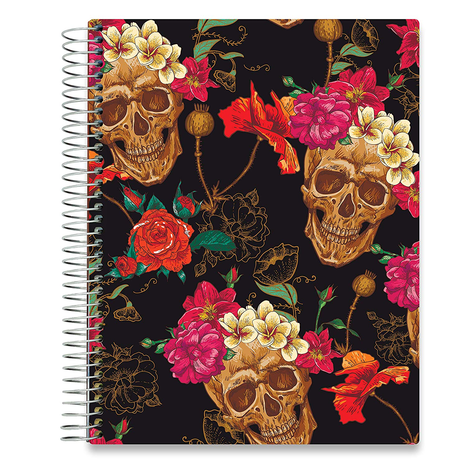 NEW: April 2020-2021 Planner - 8.5x11 - Sugar Skulls-Office Product-Tools4Wisdom