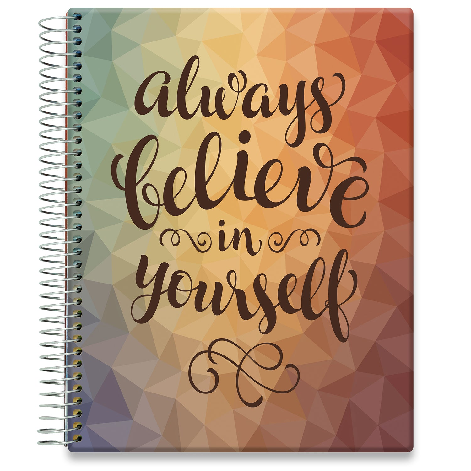 Planner 2021-2022 • April 2021 to June 2022 Academic Year • 8.5x11 Hardcover • Always Believe
