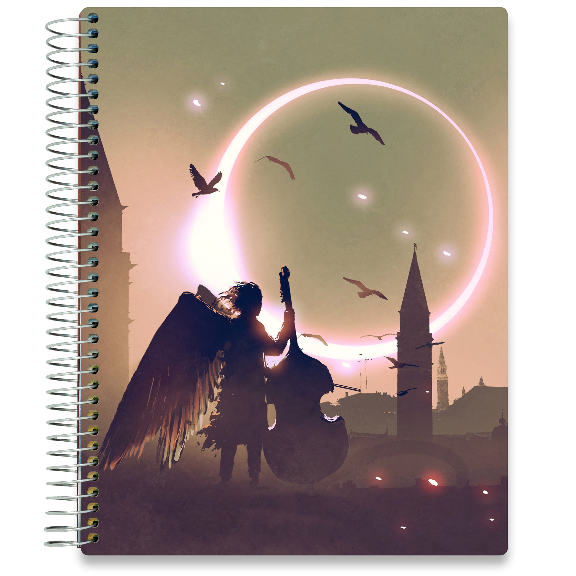 NEW: April 2020-2021 Planner - 8.5x11 - Angel of Music-Office Product-Tools4Wisdom