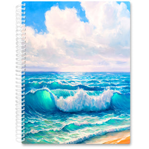 Apr 2021- Jun 2022 Softcover Planner - 8.5 x 11 - Ocean Art