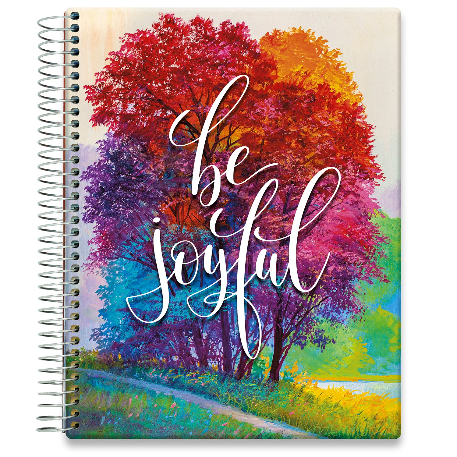 Planner 2021-2022 • April 2021 to June 2022 Academic Year • 8.5x11 Hardcover • Be Joyful Cover