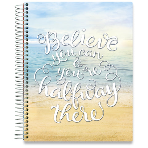 NEW: April 2020-2021 Planner - 8.5x11 - Beach Believe-Office Product-Tools4Wisdom