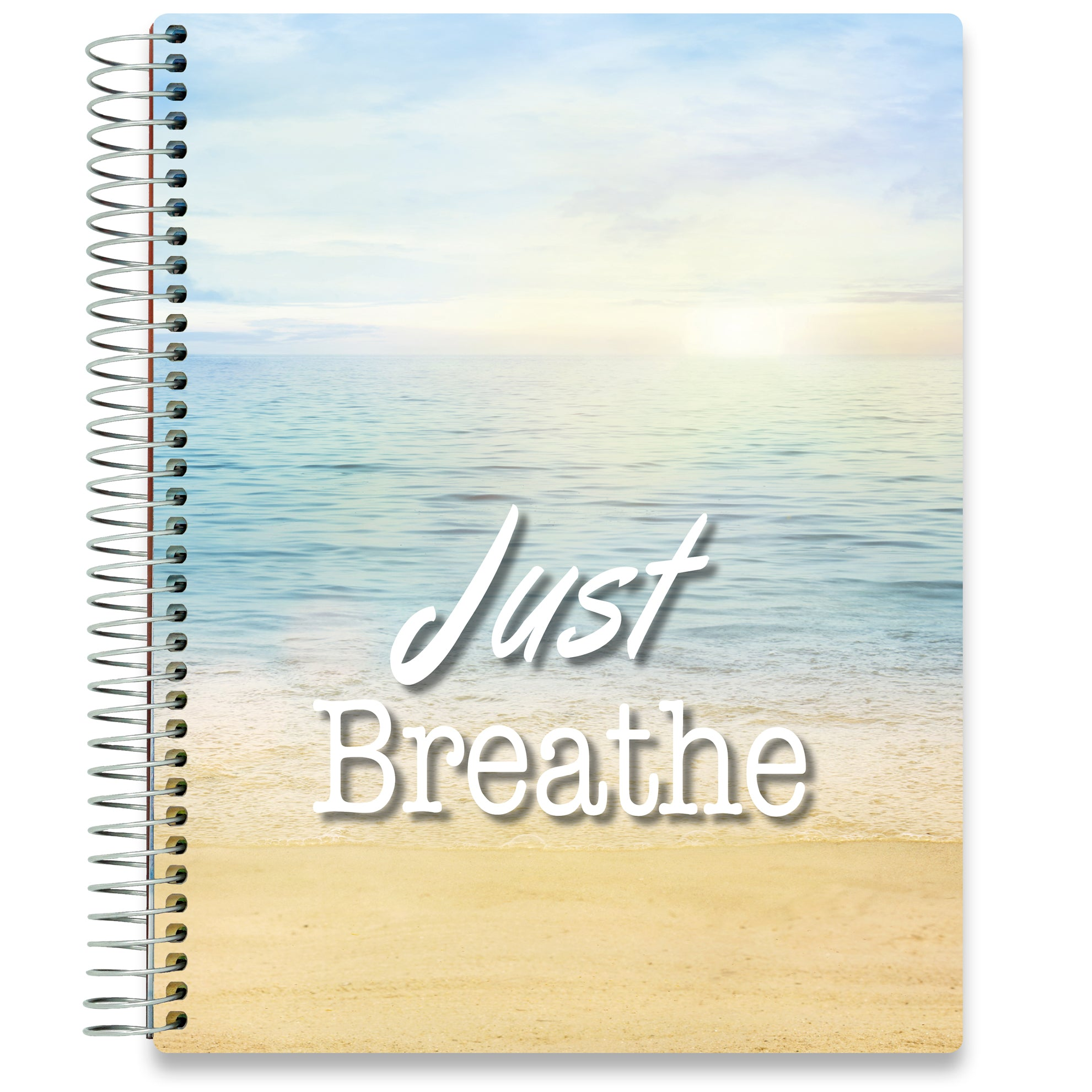 NEW: April 2020-2021 Planner - 8.5x11 - Just Breathe Beach-Office Product-Tools4Wisdom