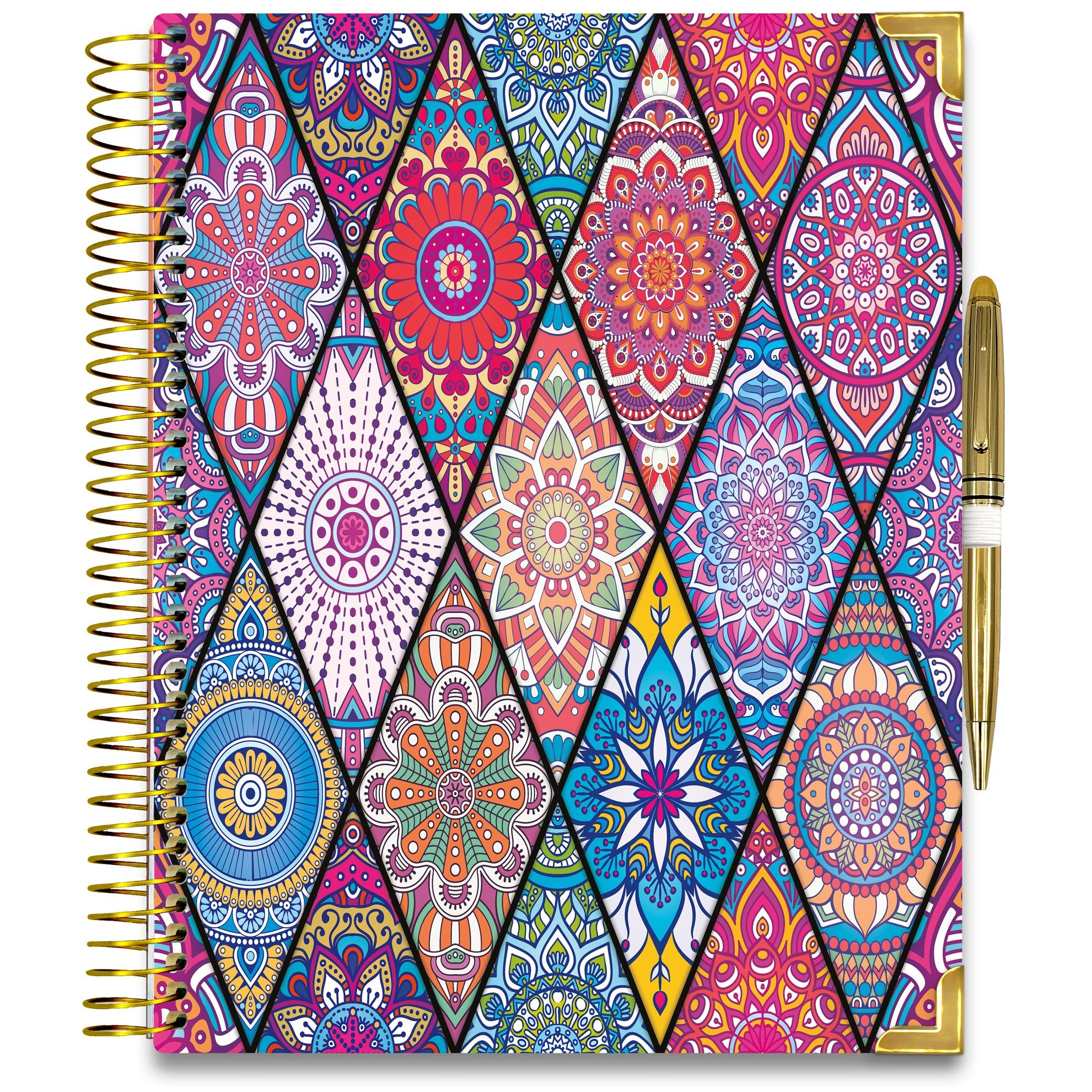 NEW: April 2020-2021 Planner - Gold Edition - Bejeweled 2-Office Product-Tools4Wisdom