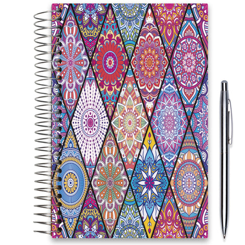 NEW: April 2020-2021 Planner - 5x8 - Bejeweled 2-Office Product-Tools4Wisdom