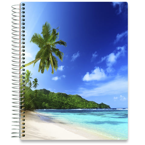 NEW: April 2020-2021 Planner - 8.5x11 - Blue Lagoon - Tools4Wisdom