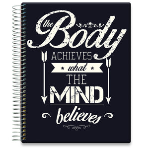Planner 2021-2022 • April 2021 to June 2022 Academic Year • 8.5x11 Hardcover • Body Mind Quote