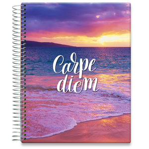 Planner 2021-2022 • April 2021 to June 2022 Academic Year • 8.5x11 Hardcover • Carpe Diem
