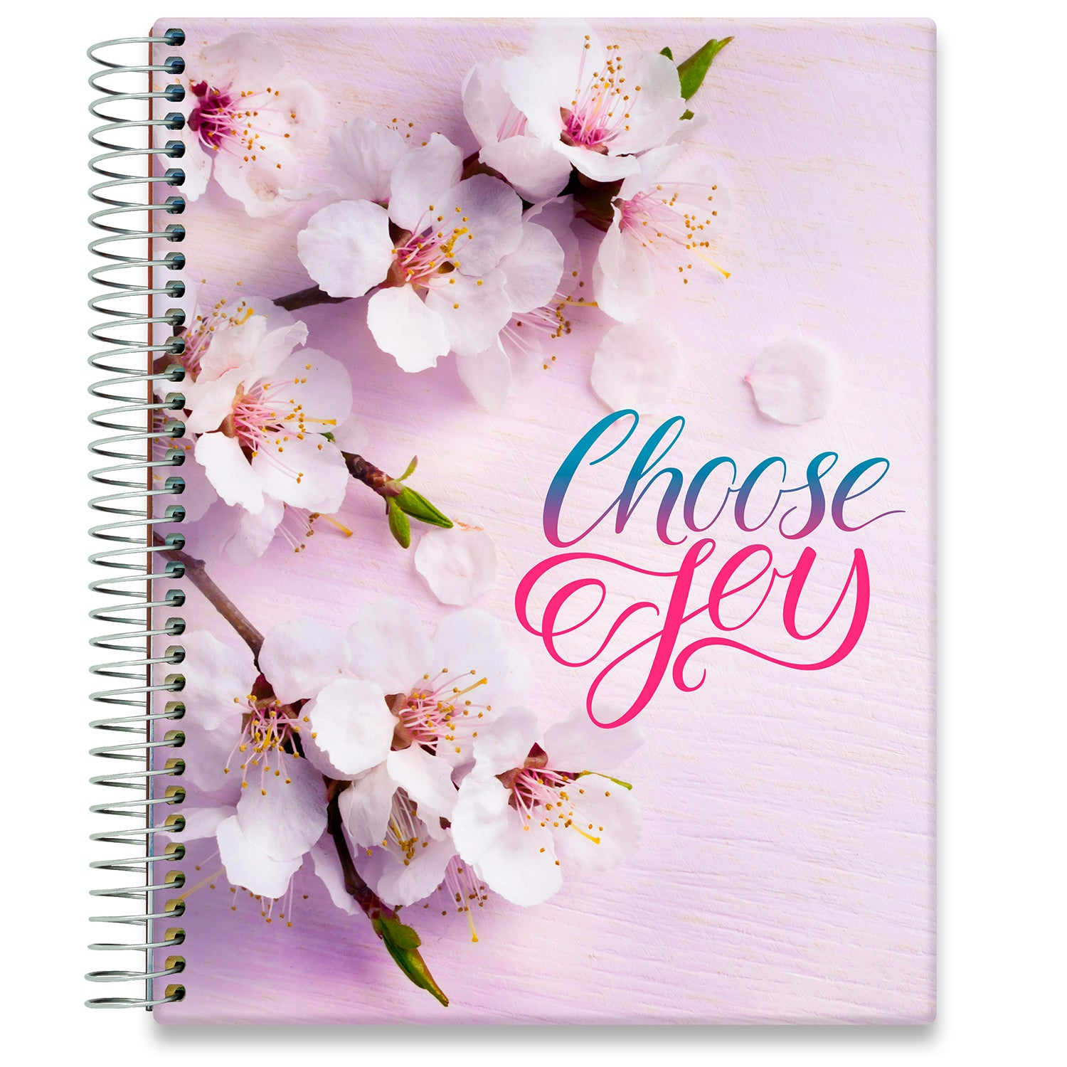 Planner 2021-2022 • April 2021 to June 2022 Academic Year • 8.5x11 Hardcover • Choose Joy Planner Cover