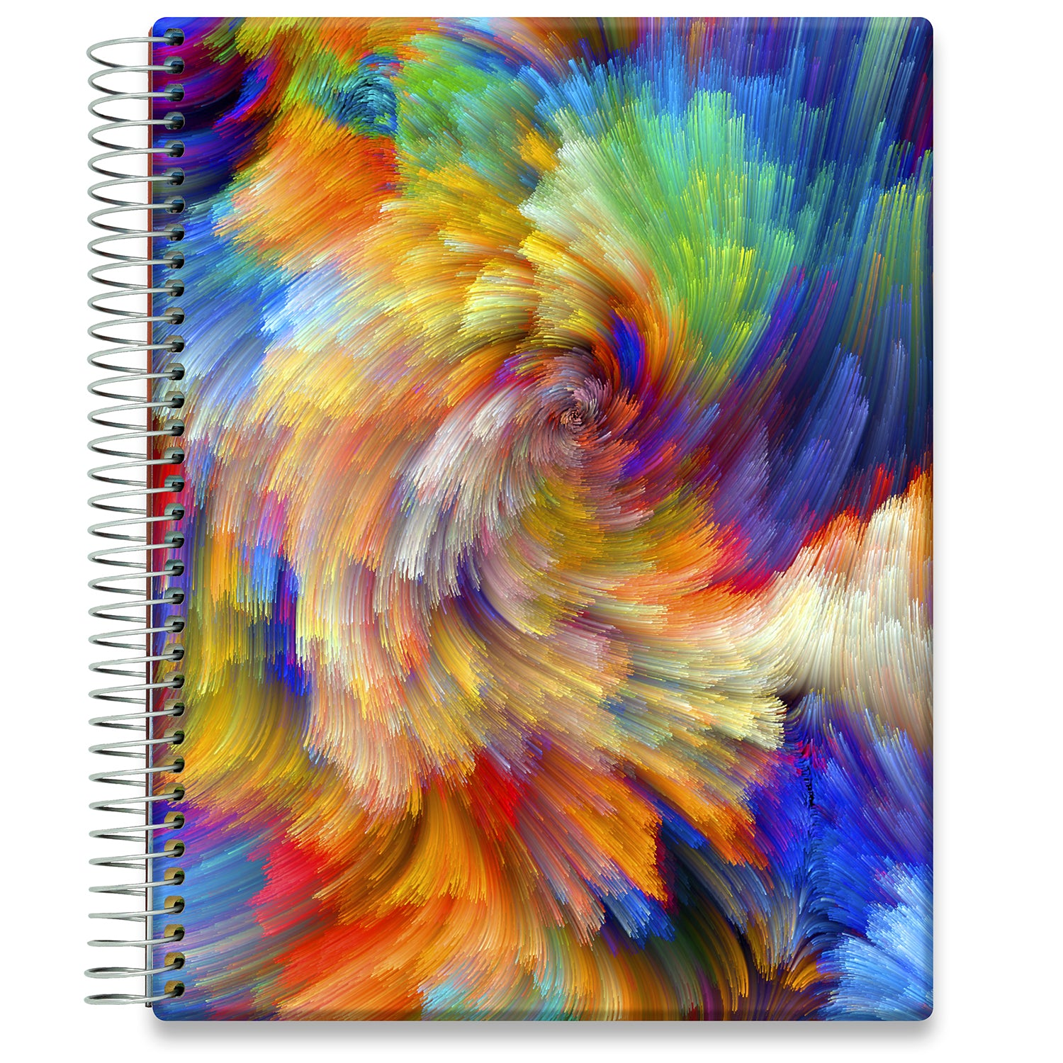 Planner 2021-2022 • April 2021 to June 2022 Academic Year • 8.5x11 Hardcover • Colorsplash