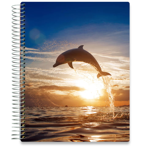 NEW: April 2020-2021 Planner - 8.5x11 - Dolphin-Office Product-Tools4Wisdom