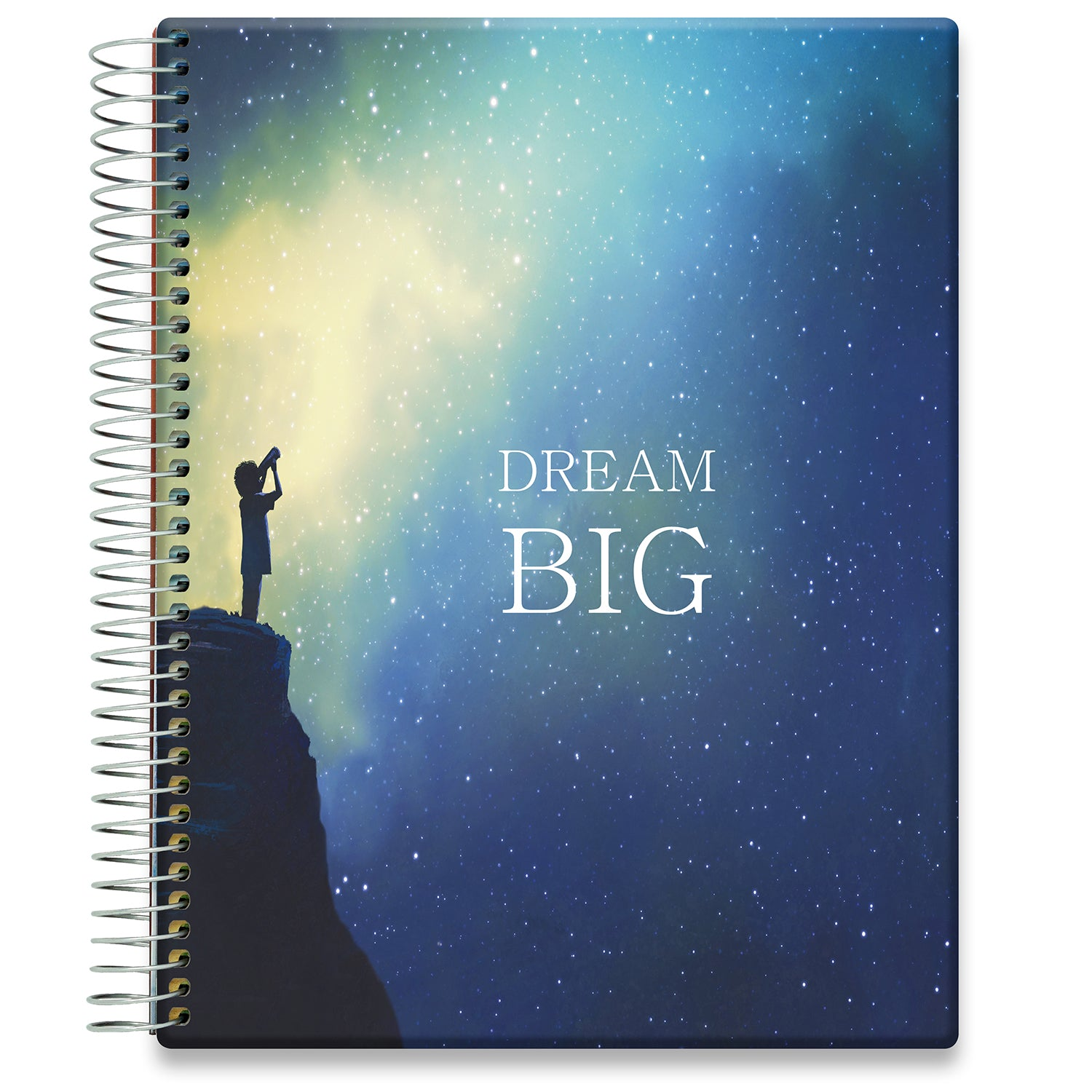 Planner 2021-2022 • April 2021 to June 2022 Academic Year • 8.5x11 Hardcover • Dream Big