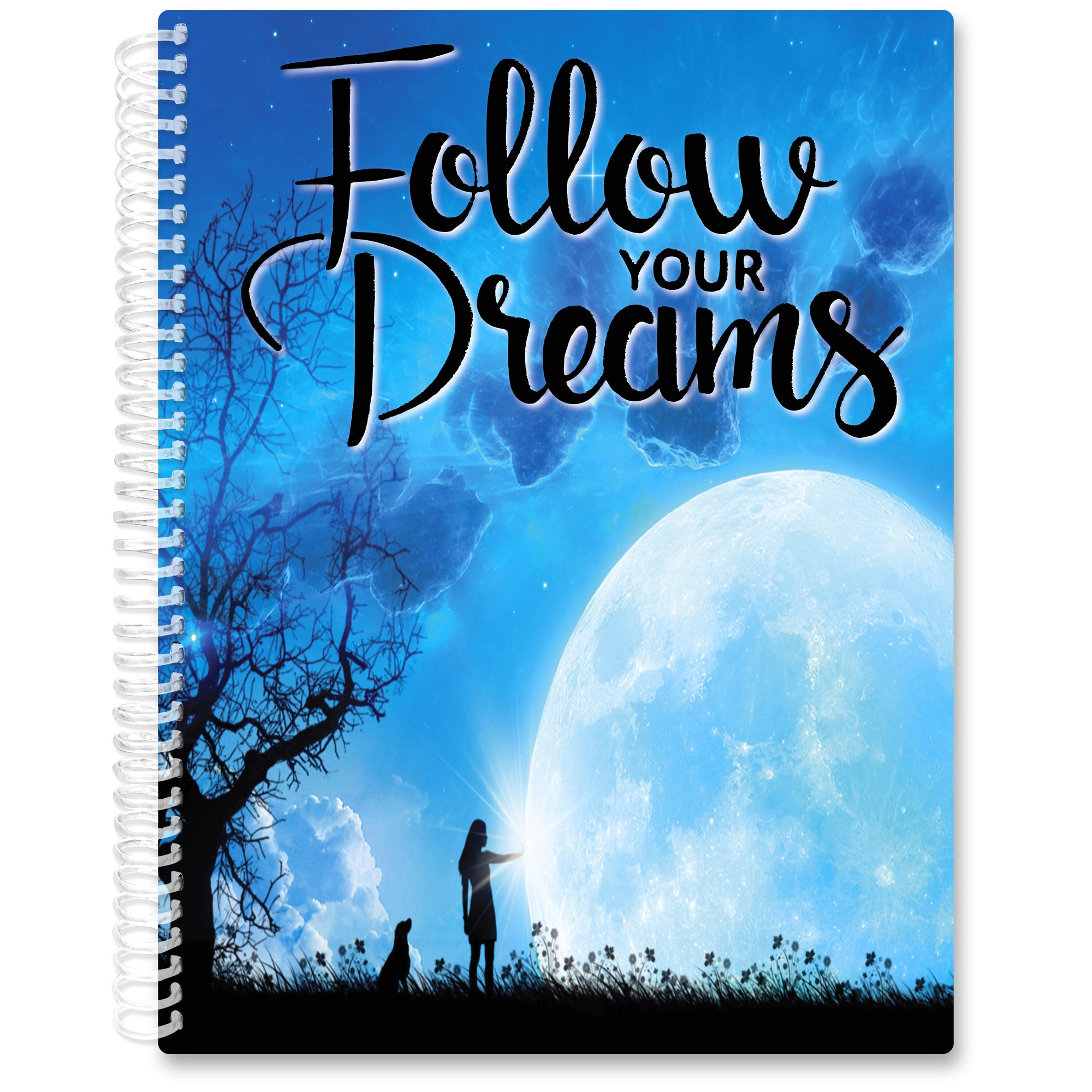Apr 2021- Jun 2022 Softcover Planner - 8.5 x 11 - Follow Your Dreams