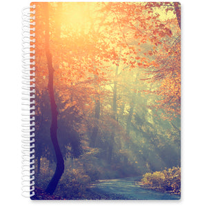 Apr 2021- Jun 2022 Softcover Planner - 8.5 x 11 - Forest