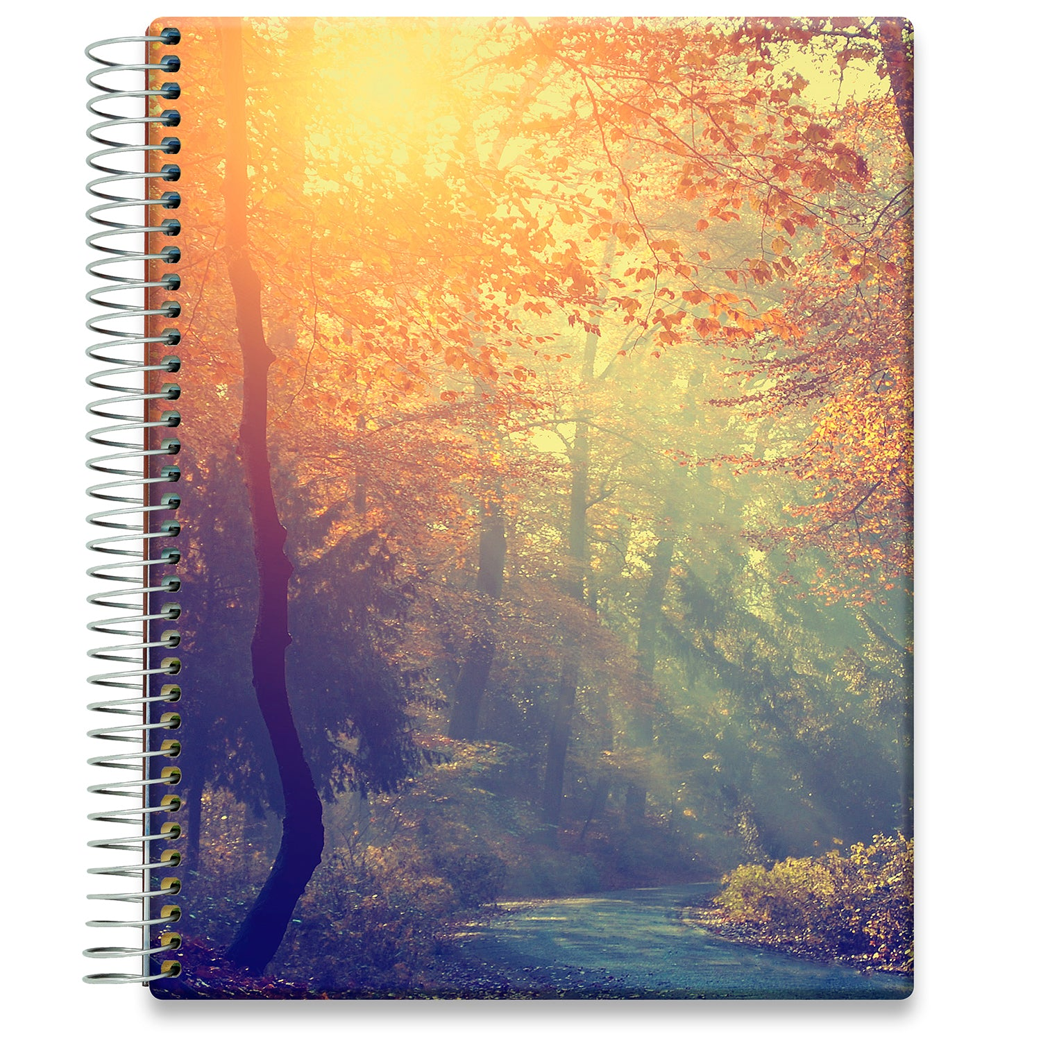 Planner 2021-2022 • April 2021 to June 2022 Academic Year • 8.5x11 Hardcover • Forest