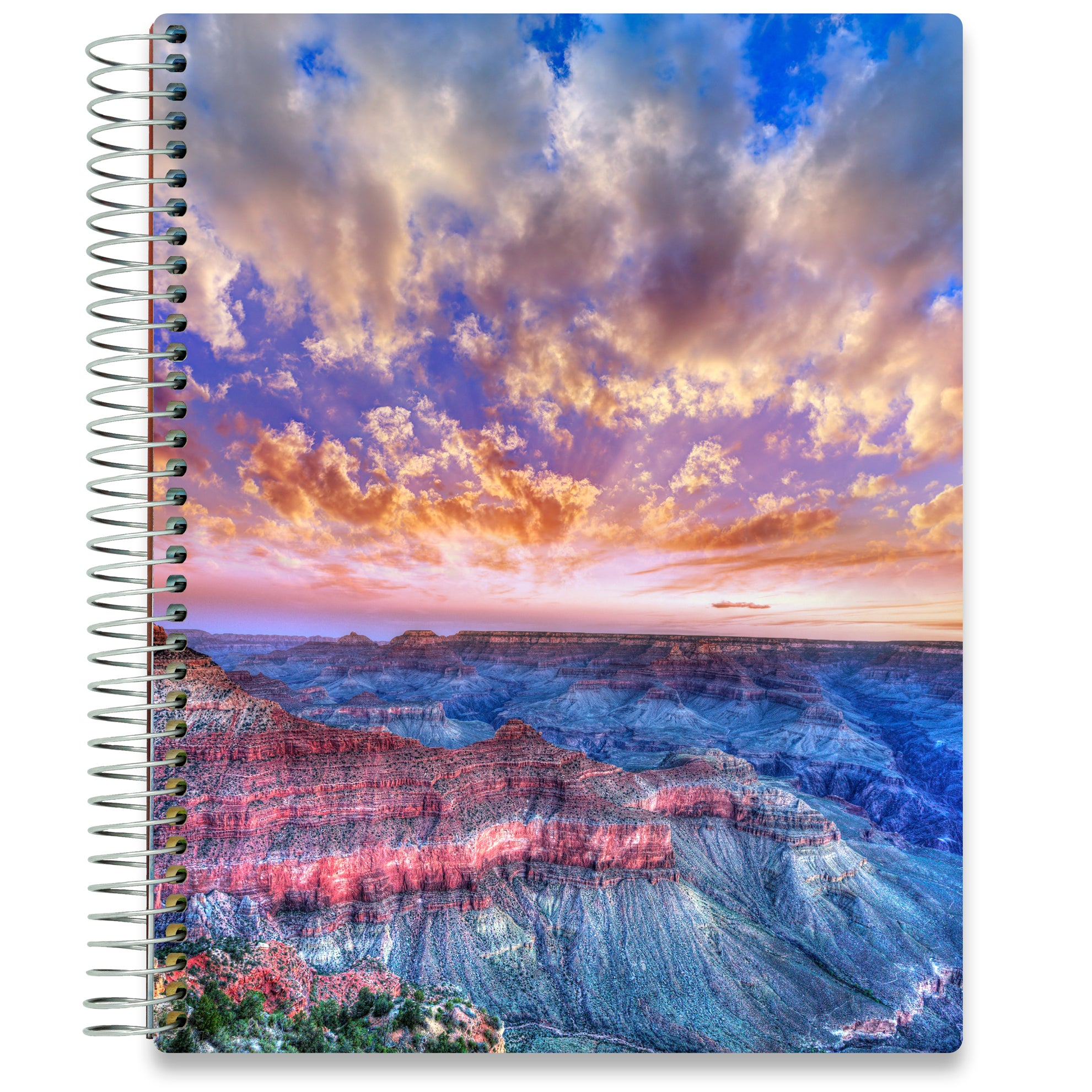 NEW: April 2020-2021 Planner - 8.5x11 - Grand Canyon-Office Product-Tools4Wisdom