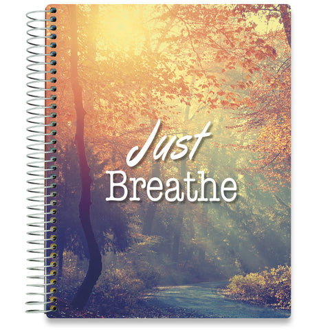 NEW: April 2020-2021 Planner - 8.5x11 - Just Breathe Forest-Office Product-Tools4Wisdom