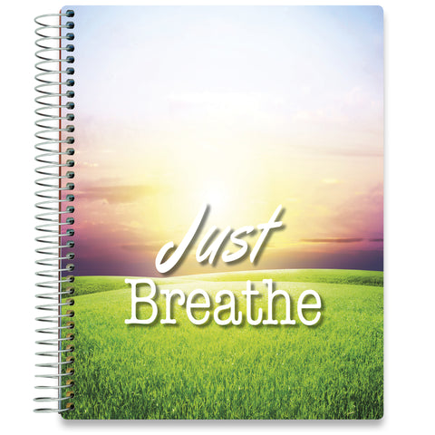 NEW: April 2020-2021 Planner - 8.5x11 - Just Breathe Sunset-Office Product-Tools4Wisdom