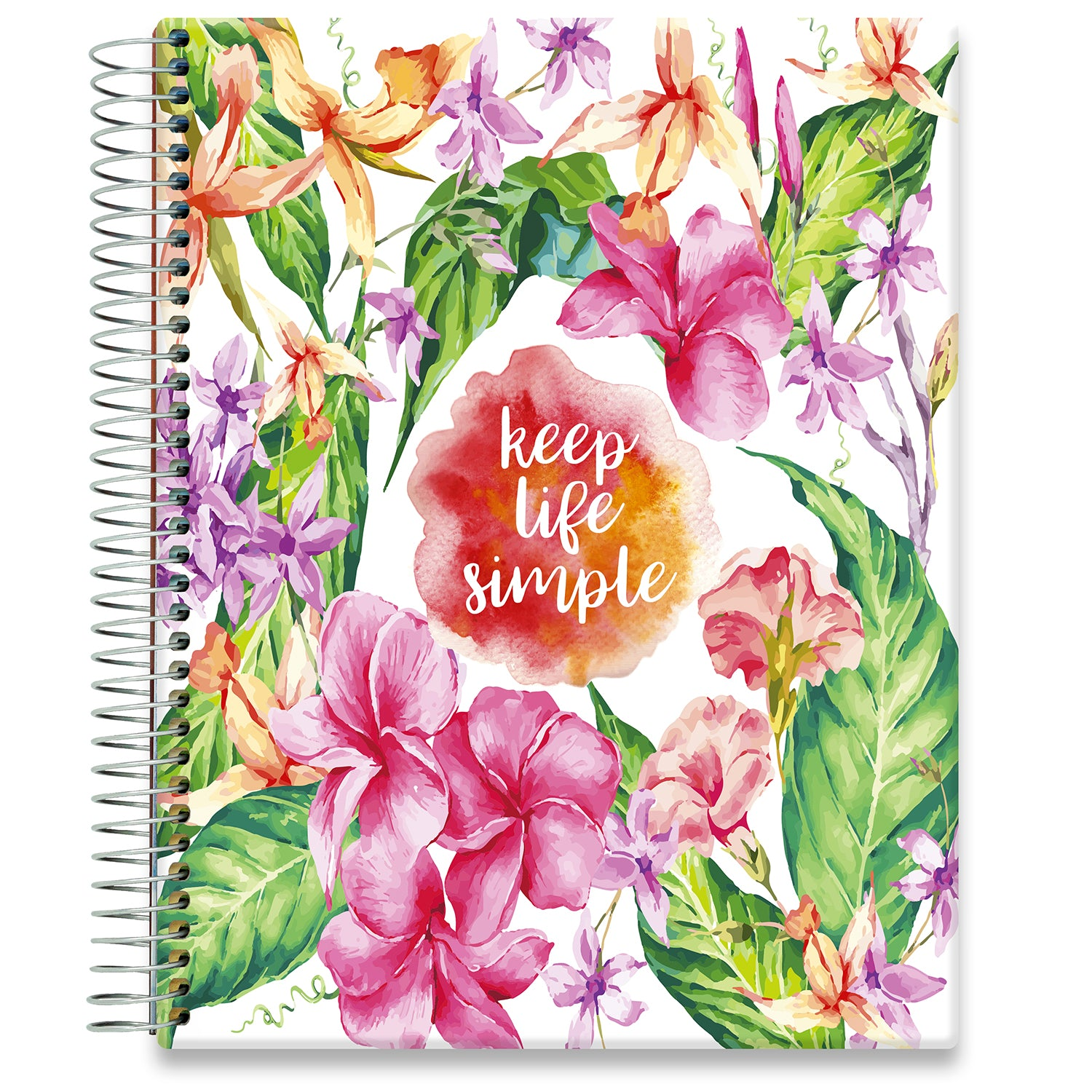 Planner 2021-2022 • April 2021 to June 2022 Academic Year • 8.5x11 Hardcover • Keep Life Simple