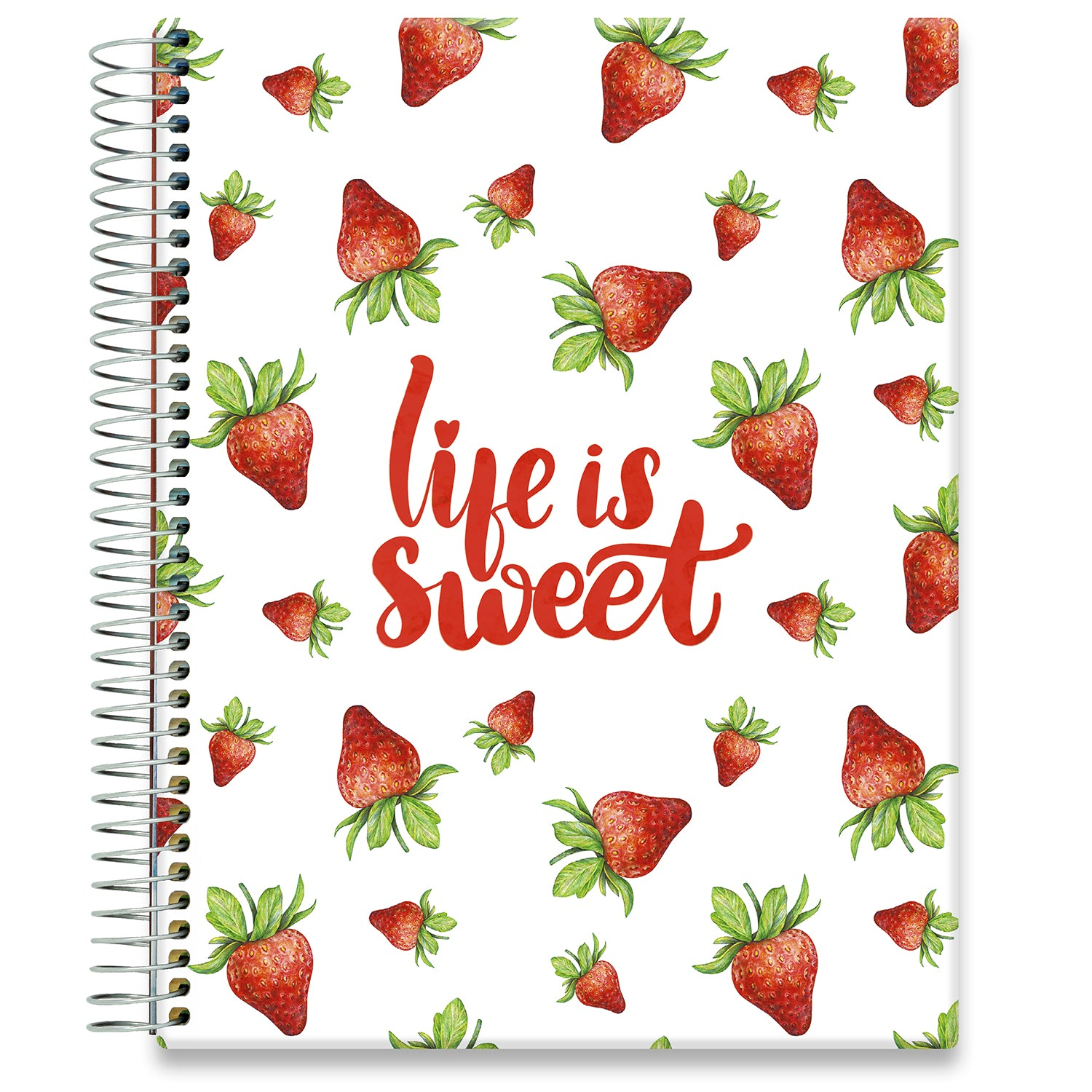Planner 2021-2022 • April 2021 to June 2022 Academic Year • 8.5x11 Hardcover • Life is Sweet