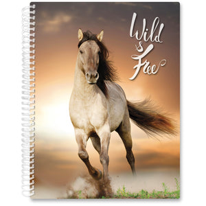 Apr 2021- Jun 2022 Softcover Planner - 8.5 x 11 - Wild & Free