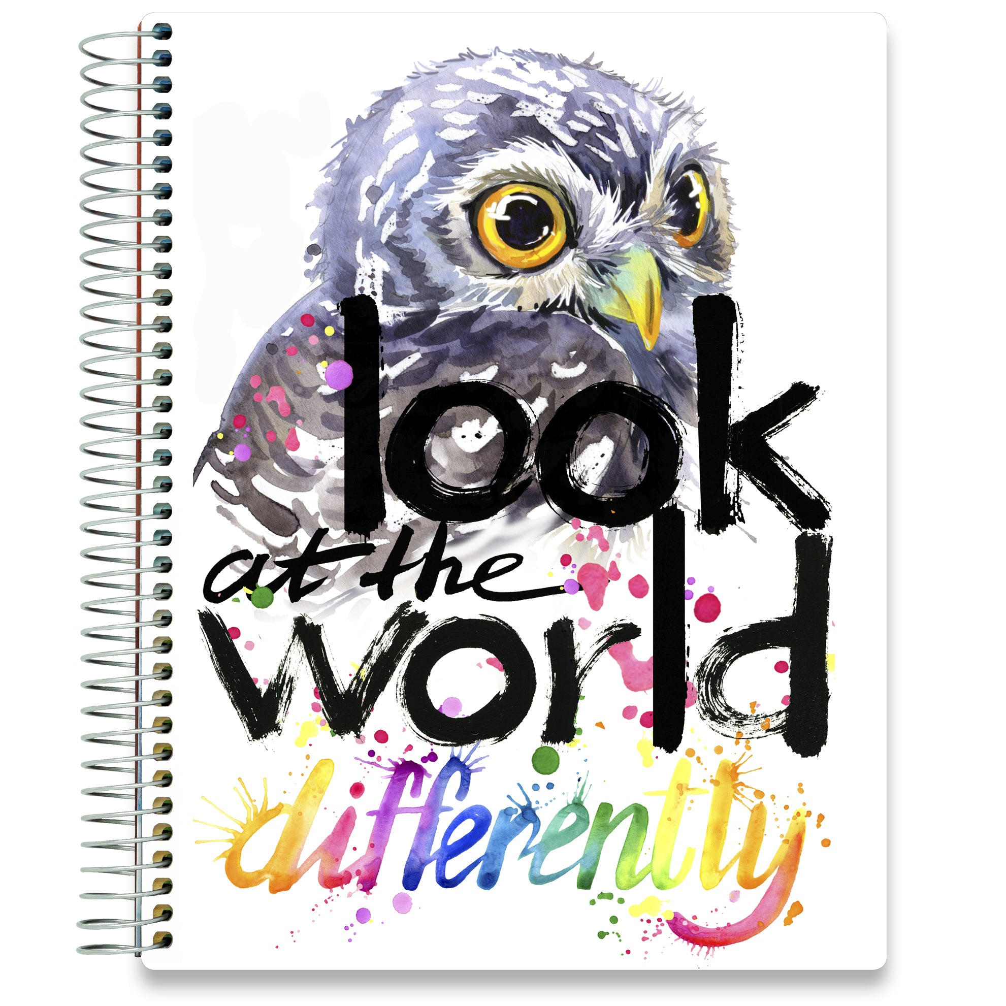 NEW: April 2020-2021 Planner - 8.5x11 - Owl-Office Product-Tools4Wisdom