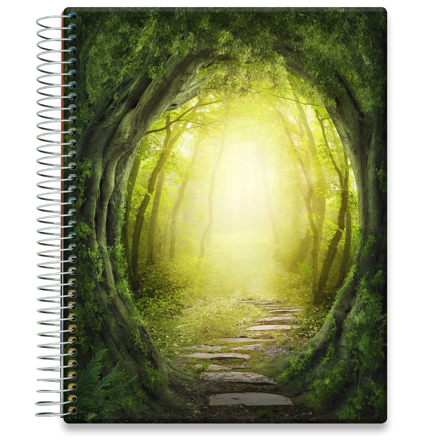 Planner 2021-2022 • April 2021 to June 2022 Academic Year • 8.5x11 Hardcover • Magic Forest