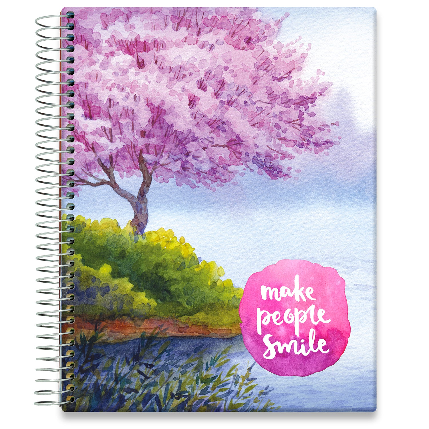 Planner 2021-2022 • April 2021 to June 2022 Academic Year • 8.5x11 Hardcover • Make People Smile
