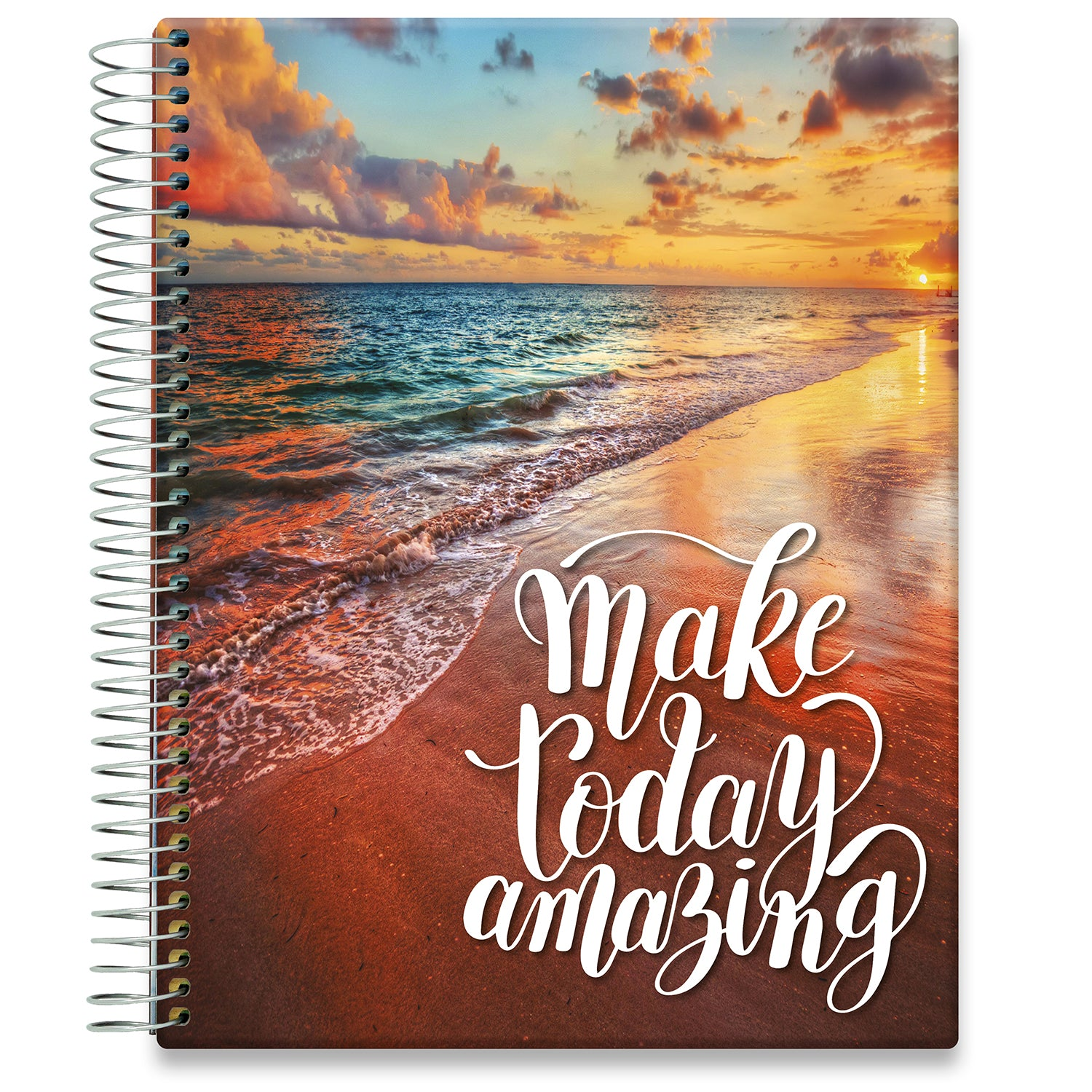 Planner 2021-2022 • April 2021 to June 2022 Academic Year • 8.5x11 Hardcover • Make Today Amazing