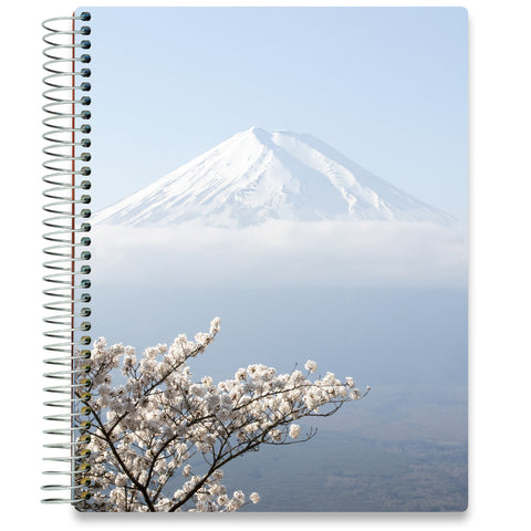 NEW: April 2020-2021 Planner - 8.5x11 - Mt. Fuji-Office Product-Tools4Wisdom