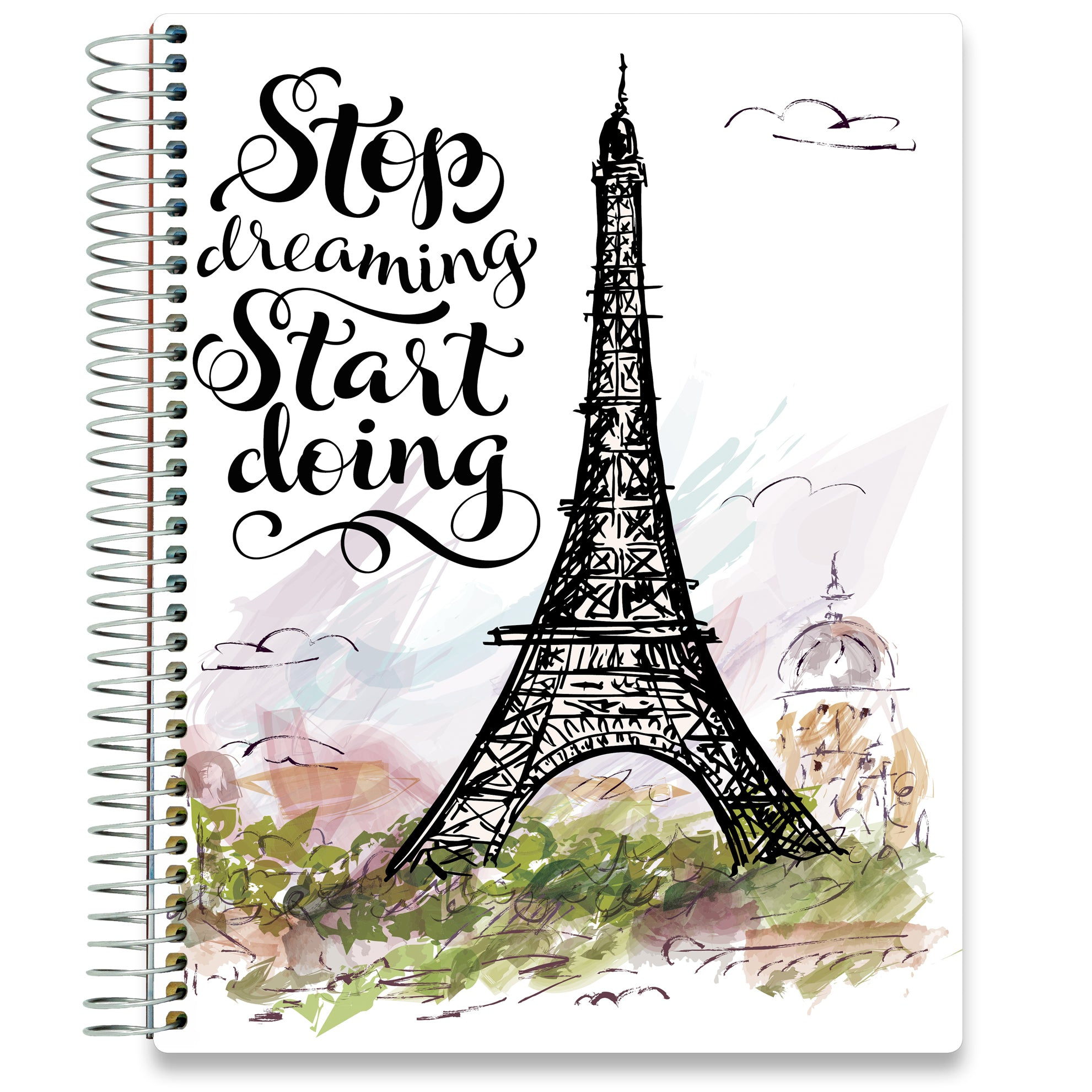 NEW: April 2020-2021 Planner - 8.5x11 - Eiffel Tower-Office Product-Tools4Wisdom